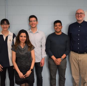 Bioengineering senior design team