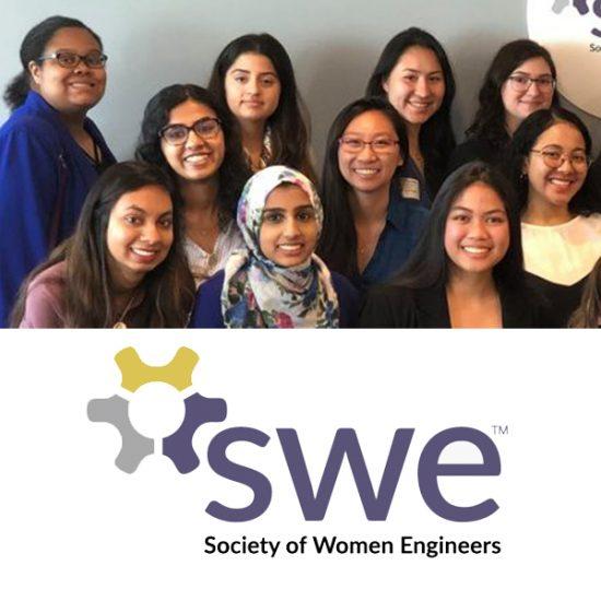 Society of Women Engineers members