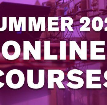Summer 2020 Online Courses button